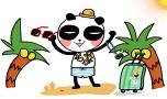 여름팬더댄스~.~팬아트!ㅋㅋㅋ